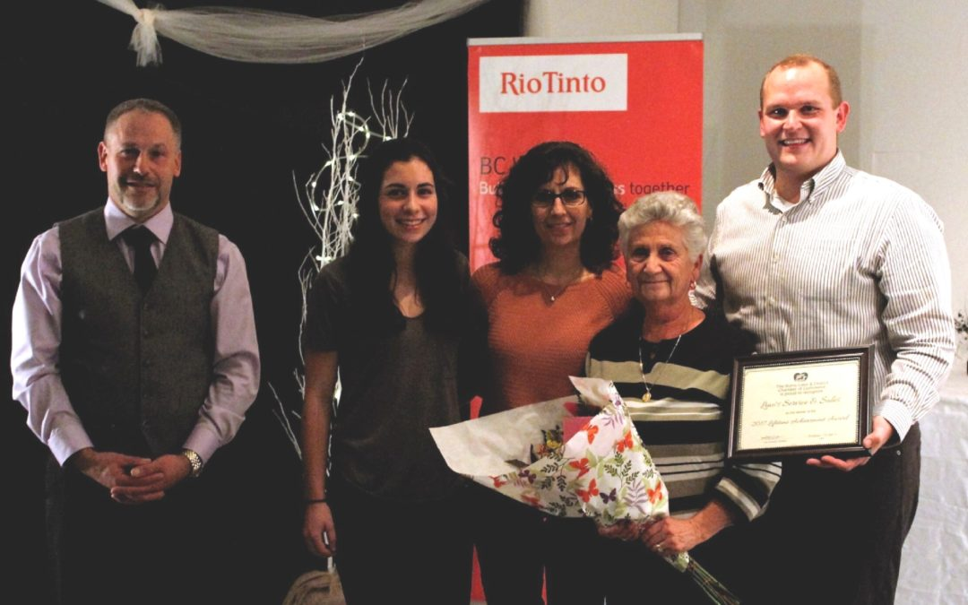Lino's Wins Lifetime Business Achievement Award
